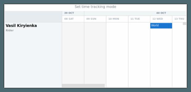 anychart.enums.TimeTrackingMode created by AnyChart Team