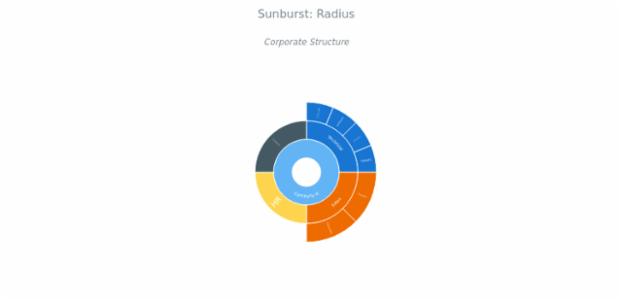 BCT Sunburst Chart 13 created by AnyChart Team