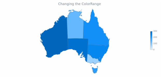 Maps ColorRange 05 created by AnyChart Team
