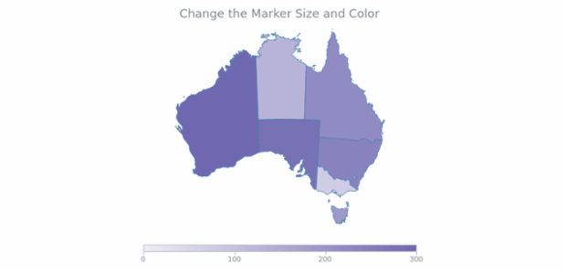 Maps ColorRange 12 created by AnyChart Team