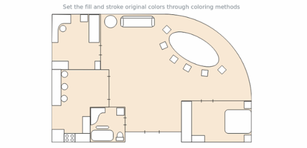 Maps Seat Advanced Coloring 01 created by AnyChart Team