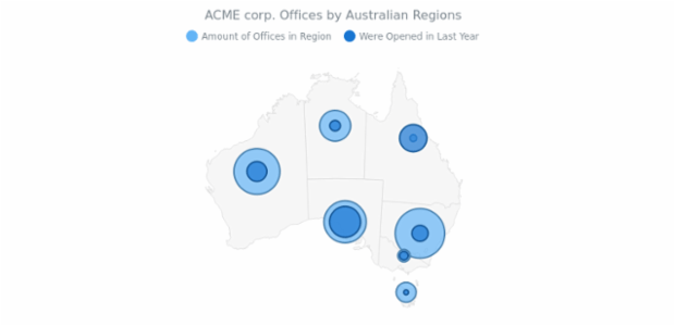 ACME corp. Offices Map created by AnyChart Team