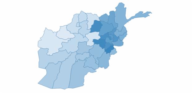 Afghanistan created by AnyChart Team
