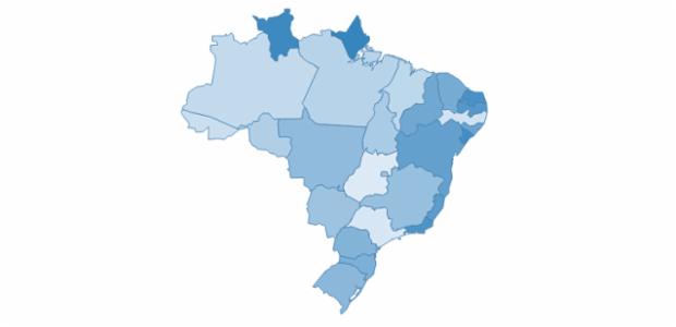 Brazil created by AnyChart Team