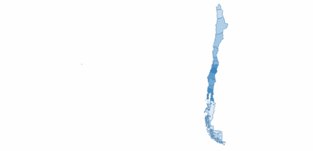 Chile created by AnyChart Team