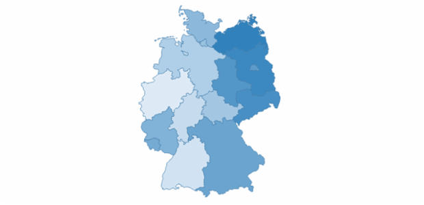 Germany created by AnyChart Team