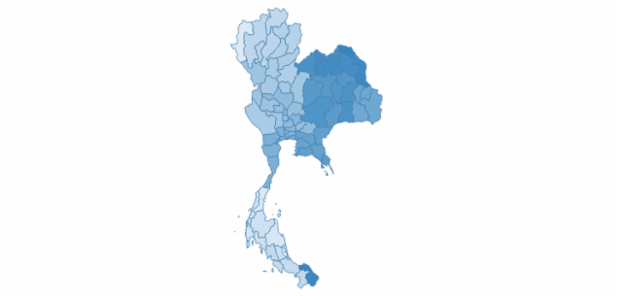 Thailand created by AnyChart Team