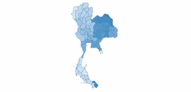 Thailand created by AnyChart Team