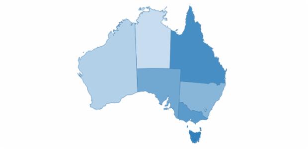 australia created by AnyChart Team