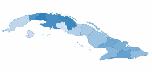 cuba created by AnyChart Team