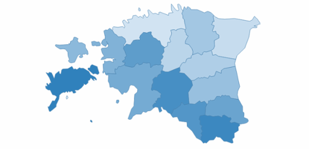 estonia created by AnyChart Team