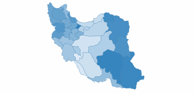 iran created by AnyChart Team