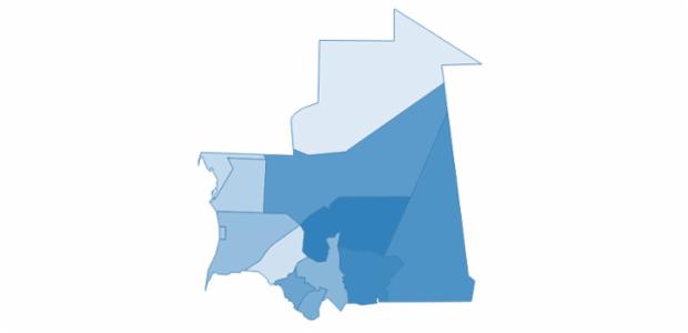 mauritania created by AnyChart Team