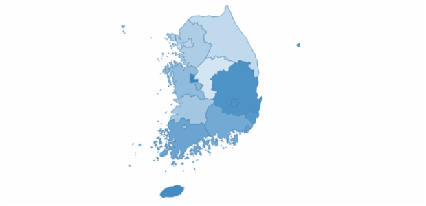 south_korea created by AnyChart Team