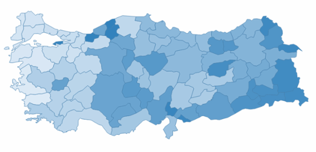 turkey created by AnyChart Team
