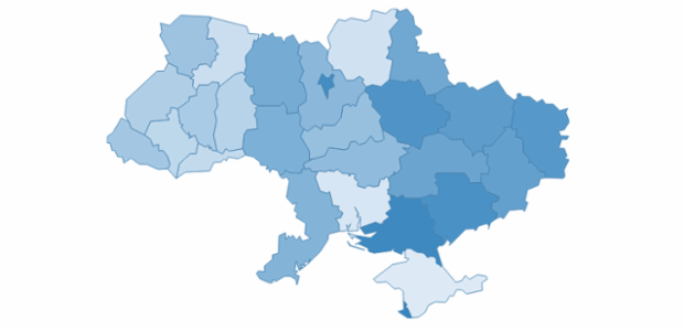 ukraine created by AnyChart Team