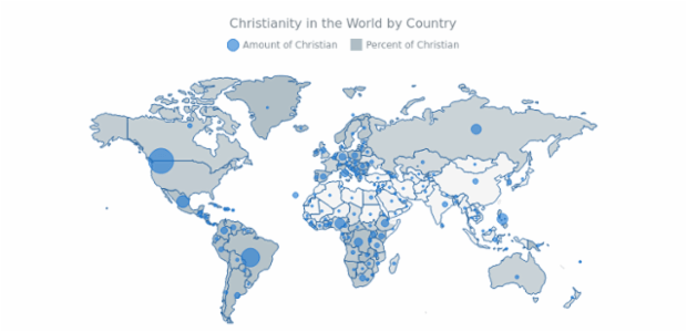 Bubble Christian Map created by anonymous
